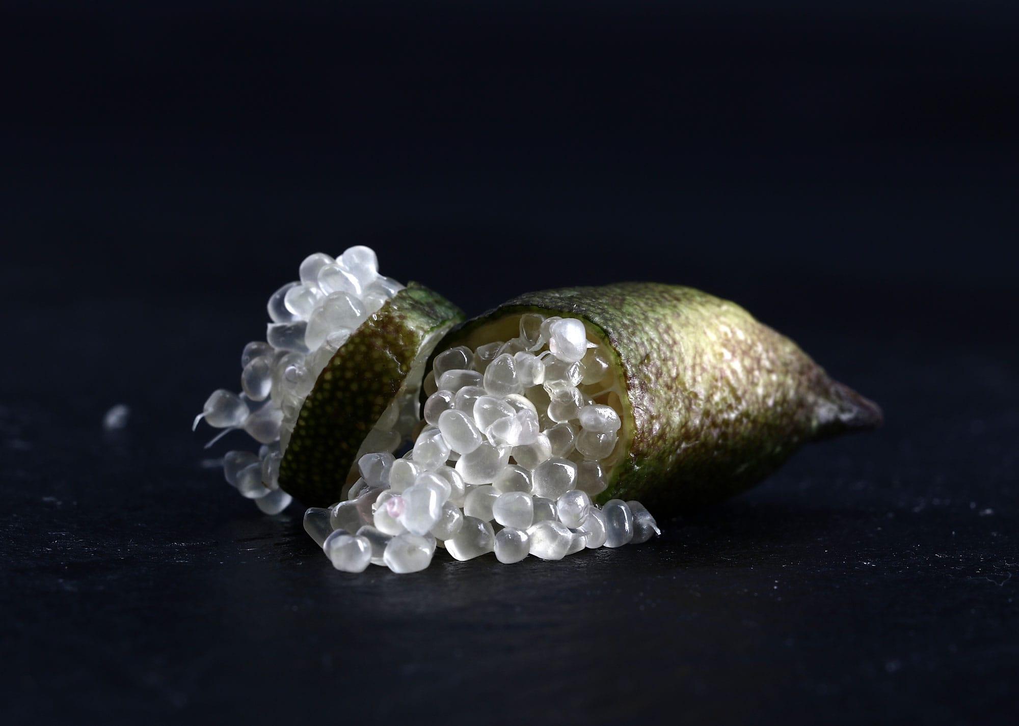 Citron caviar